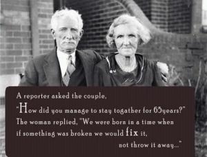 we lived